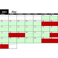 2021 May Availability