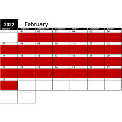 2022 February Availability