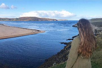 Scottish Field on tour at Torrisdale Bay