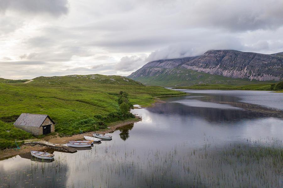 Loch Stack, Highland, Scotland