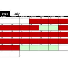 2021 July Availability