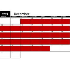 2021 December Availability