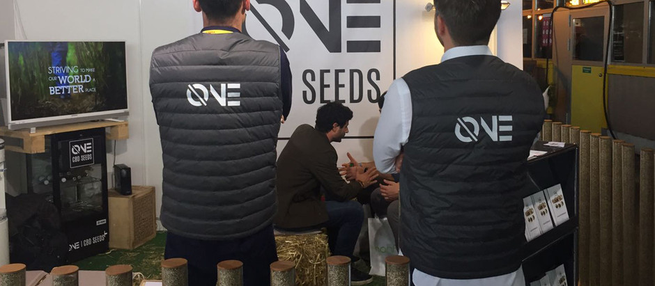 ØNE CBD SEEDS, Cannatrade 2018