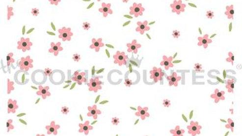 Ditsy floral 3 piece stencil