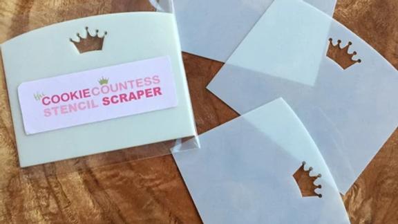 The Cookie Countess Stencil Scraper - 3 pack