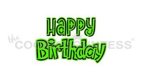Happy birthday 2piece