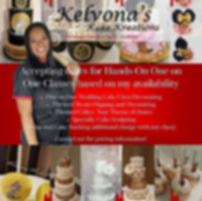 Join Kelvona's Kake Kreations in taking