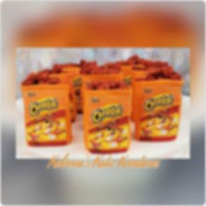 Hot Cheetos Theme Rice Krispie Treats! E