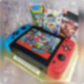 Nintendo Switch Birthday Cake! #nintendo