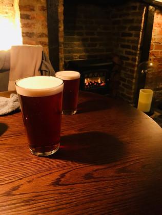 a few pints, York UK, October 18