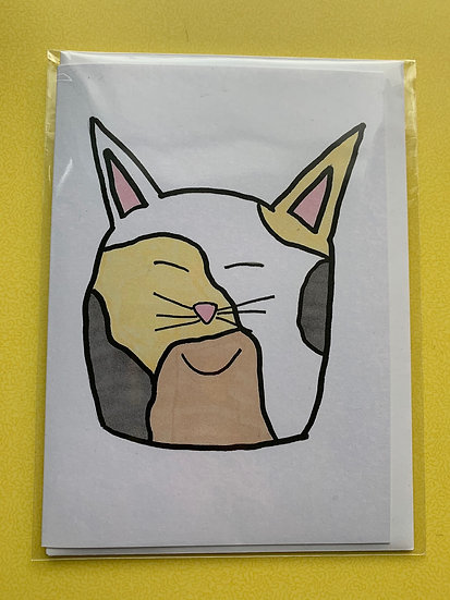 Cat Card -Gizmo