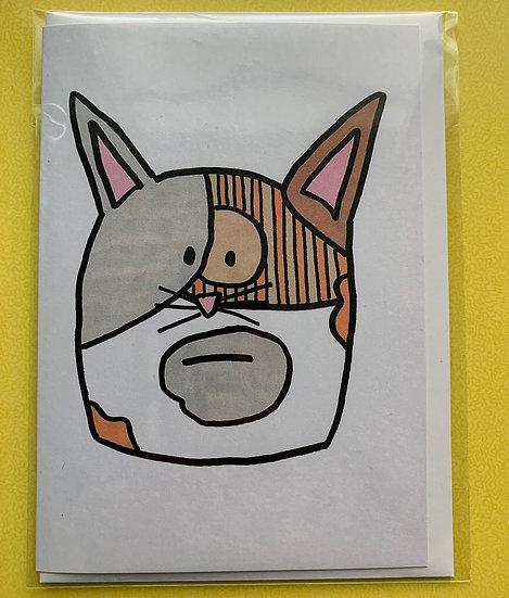 Cat Card - Furball