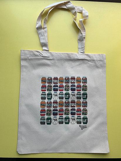Jars Tote Bag
