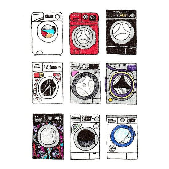 Washing Machines Print