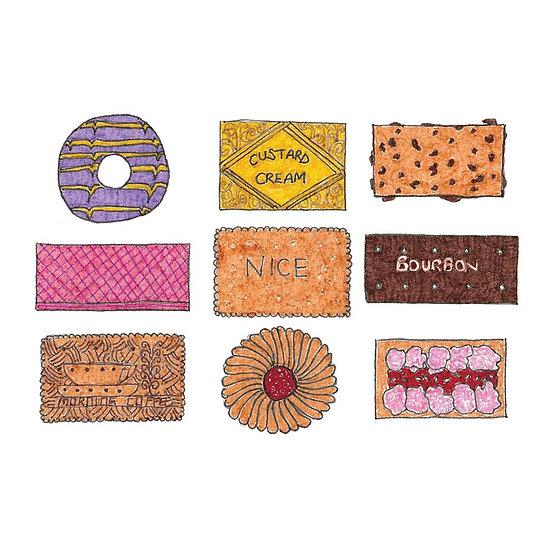 Biscuits Print