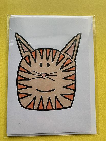 Cat Card - Berty