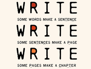 """""""If you want to be a writer, you have to write everyday."""""""