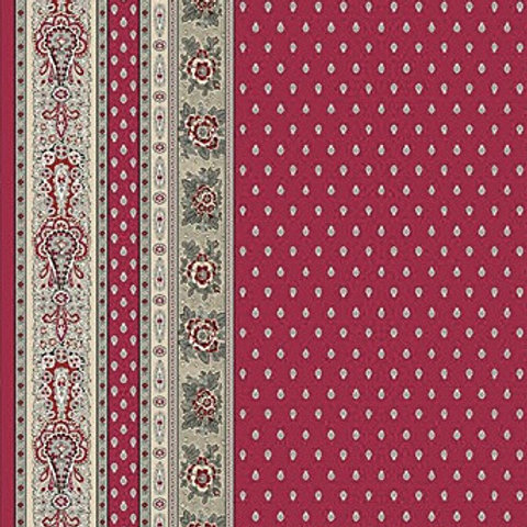 BASTIDE WINE BORDER Cotton