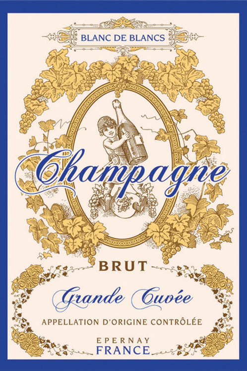 CHAMPAGNE Kitchen Towel