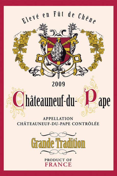 CHATEAUNEUF-DU-PAPE Kitchen Towel