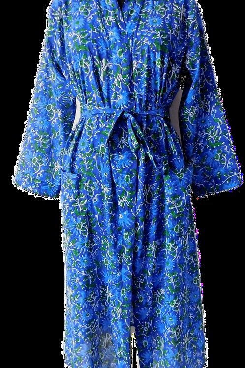 KIMONO BLUE DAISEY