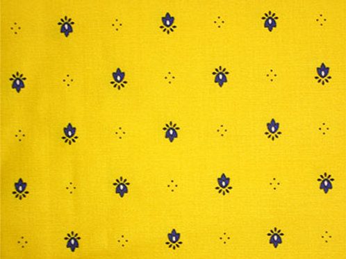 CALLISON YELLOW NAPKIN SET (4)