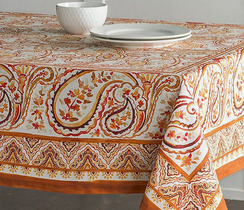 les indiennes tablecloth