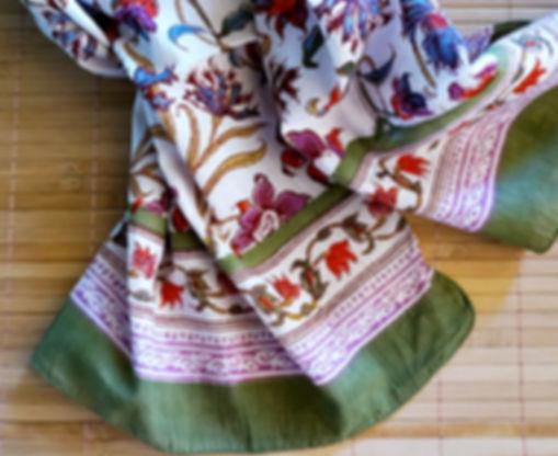 anokhi blok printed scarves