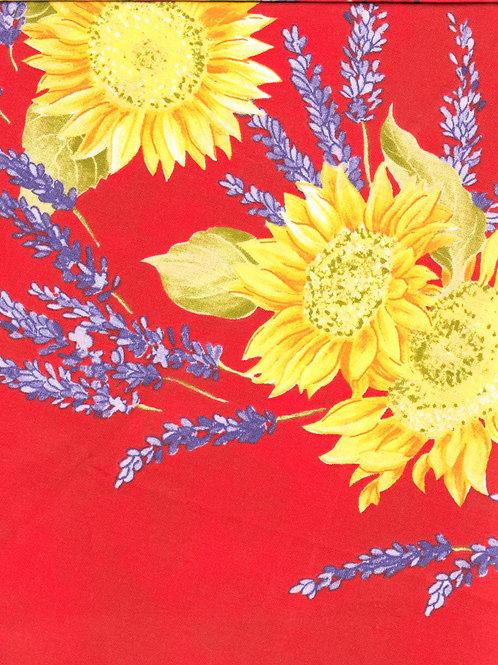 SUNFLOWER RED cotton
