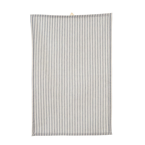FRENCH TICKING KITCHEN TOWEL NAVY