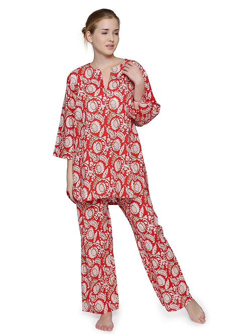 PAJAMA TAJ RED