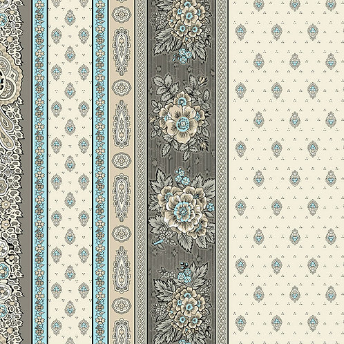BASTIDE TURQUOISE Border coated