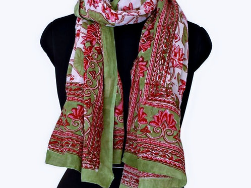 WATER LILLY SCARF