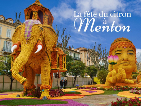 February is Lemon Festival in Menton