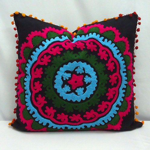 SUZANI CUSHION COVER E