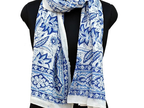 PERSIAN BLUE SCARF