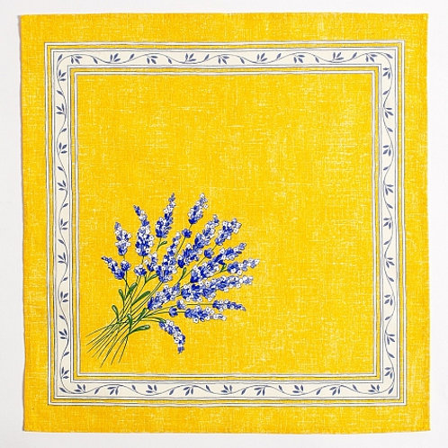 VALENSOLE YELLOW NAPKIN SET (4)