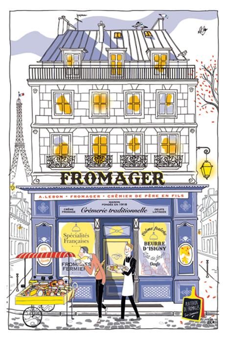FROMAGER Kitchen Towel