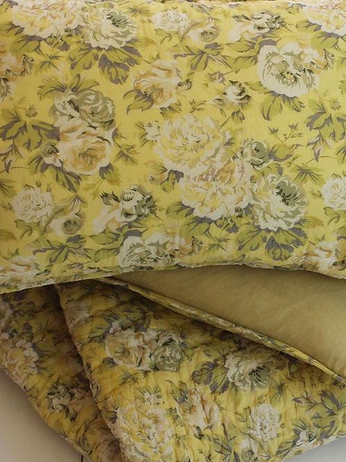 BUTTER CREAM QUEEN QUILT SET