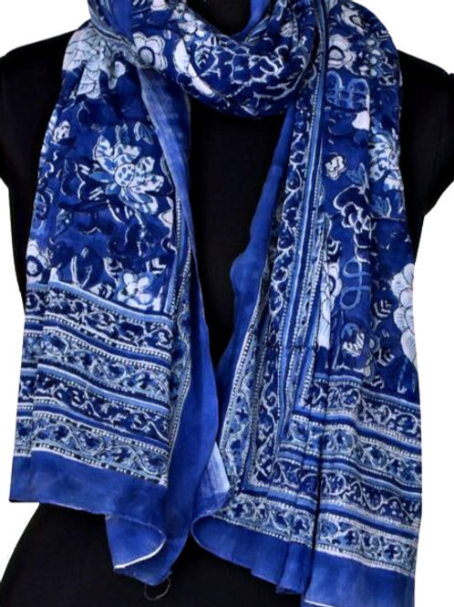 MING BLUE SCARF