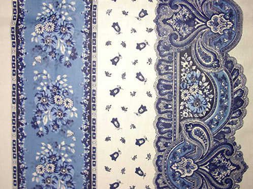 Tradition Blue/White cotton