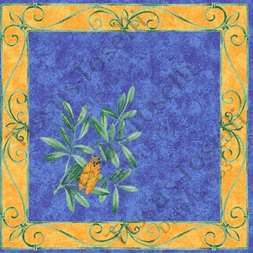 CIGALE BLUE NAPKIN SET (4)