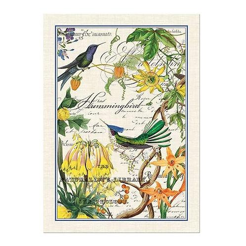 HUMMINGBIRD KITCHEN TOWEL
