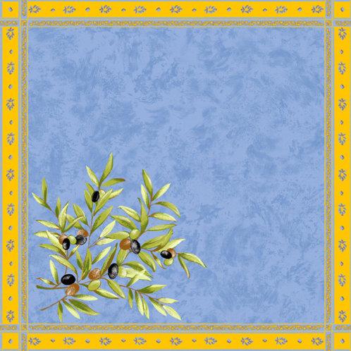 CLOS OLIVIER blue NAPKIN SET (4)