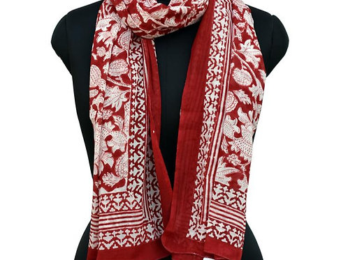ACADIAN RED SCARF