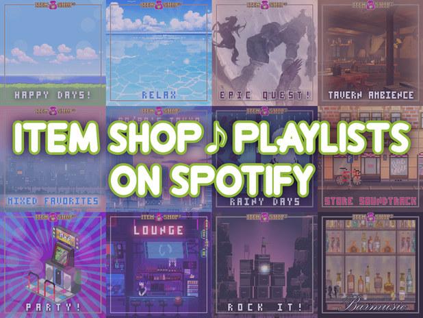 ITEM SHOP Playlist
