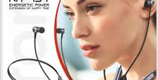 Touchtek NH-457 Vivid Series Wireless in-Ear Magnetic Design.