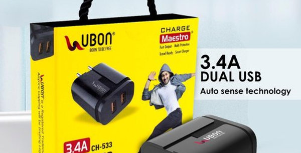 Ubon Fast Charger For All Smartphones