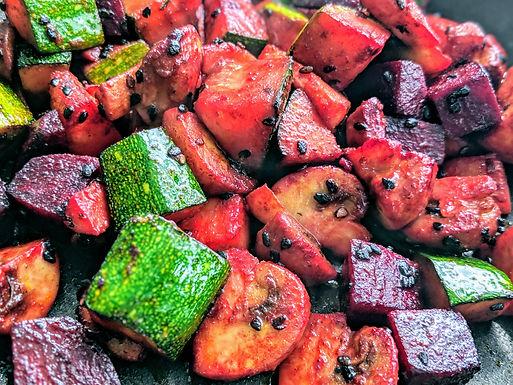 Ensalada de Vegetales Rostizados 4 porciones