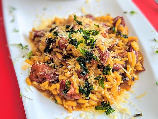 Menú Risotto Pulpo & Kale